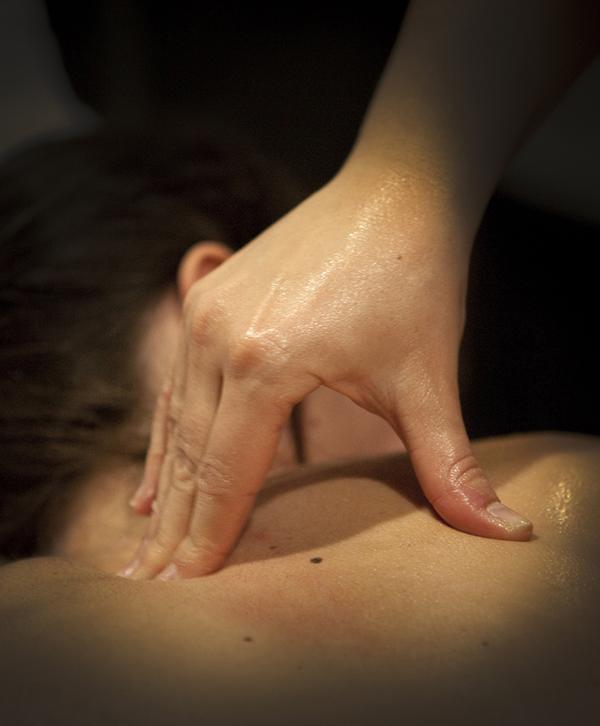 local masaje desprotegido