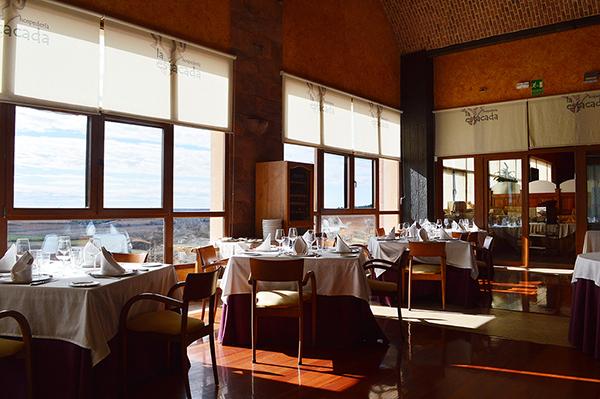 Evadium: Menú maridaje de vinos en restaurante-bodega
