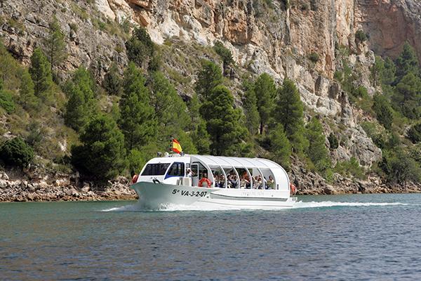 crucero fluvial por el jucar desde cofrentes